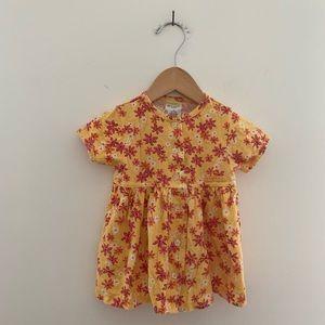 OLD NAVY Vintage Floral Front Button Sun Dress EUC